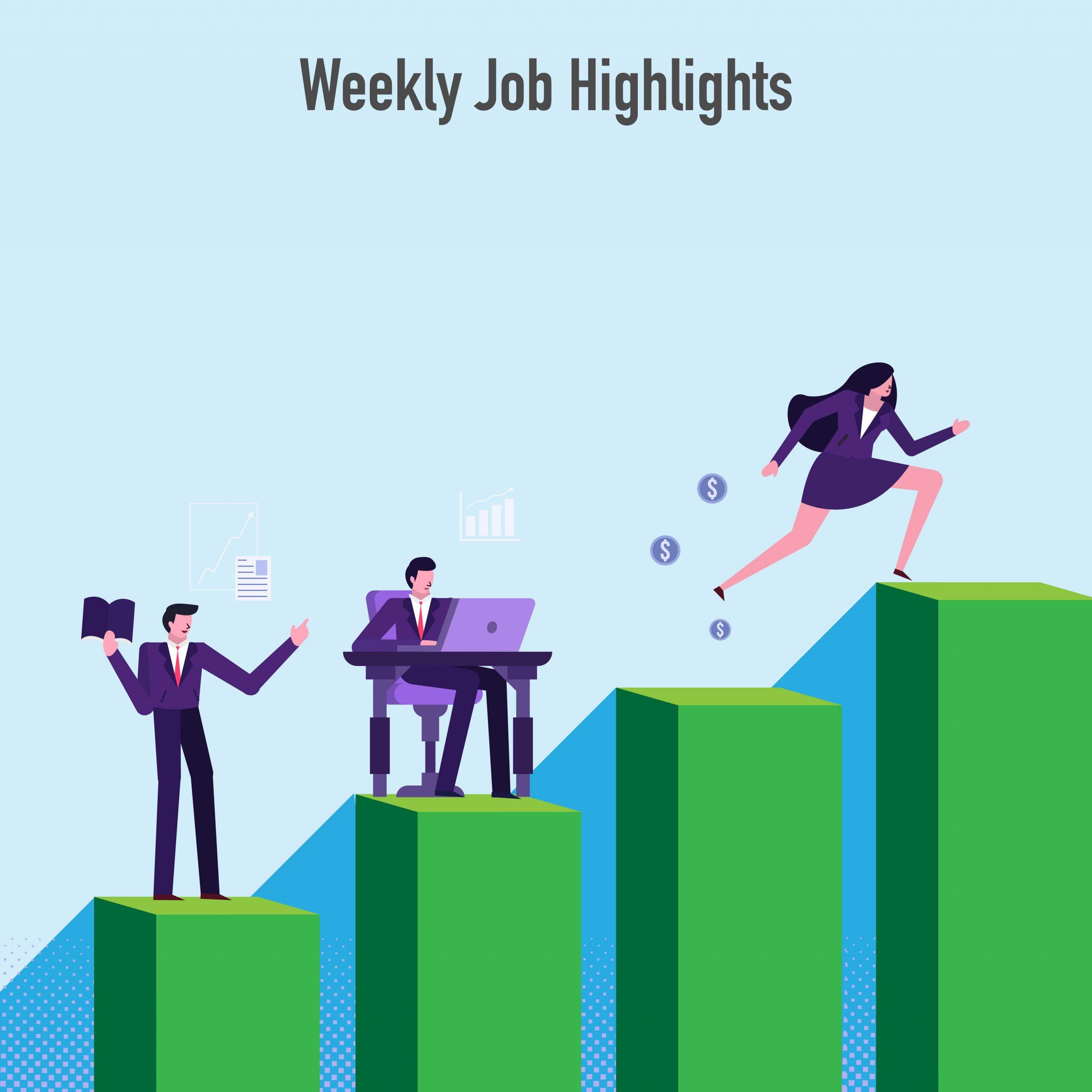 Mānoa Career Center | May 7, 2021 | <b>Job Highlights</b>