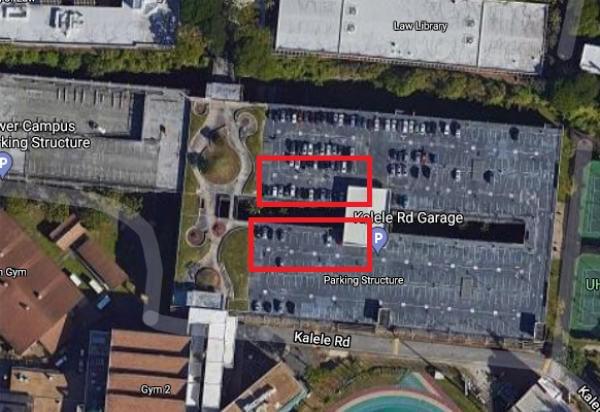 Lower Campus Parking Structure Partial Closure