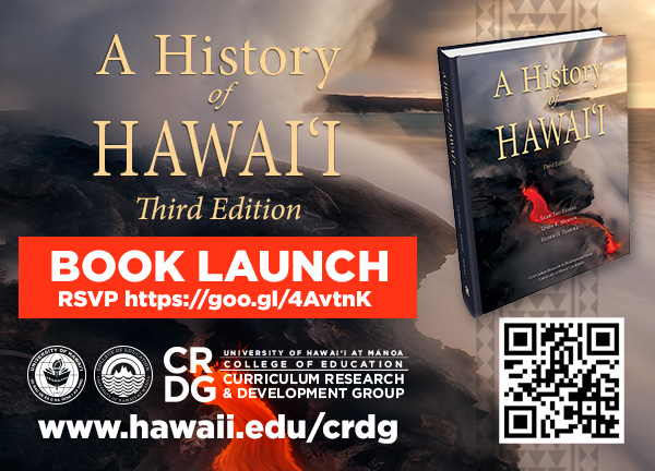 a history of hawaii book graphic
