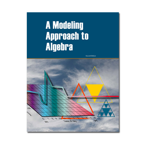 a modeling approach to algebra book cover