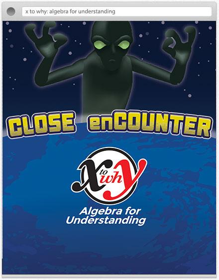 close encounters graphic element