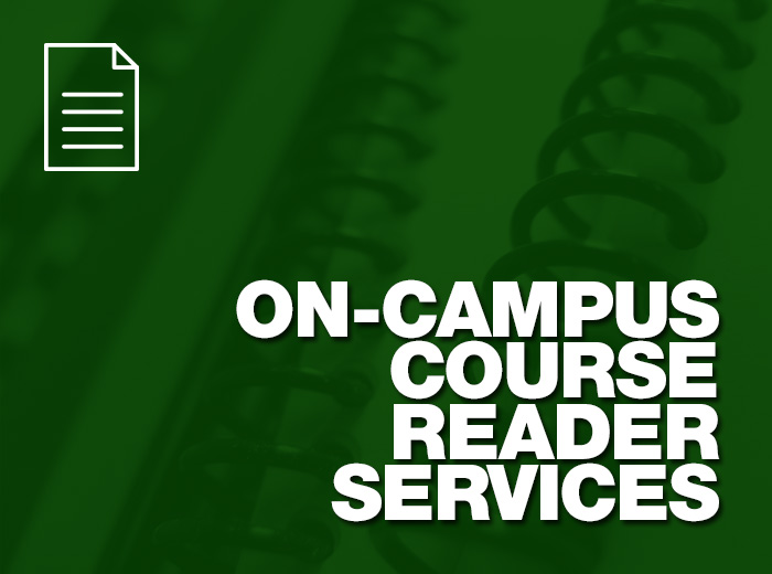 course reader services image