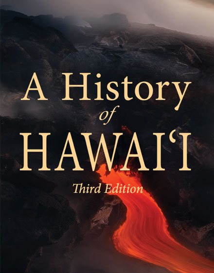history of hawaii book cover graphic