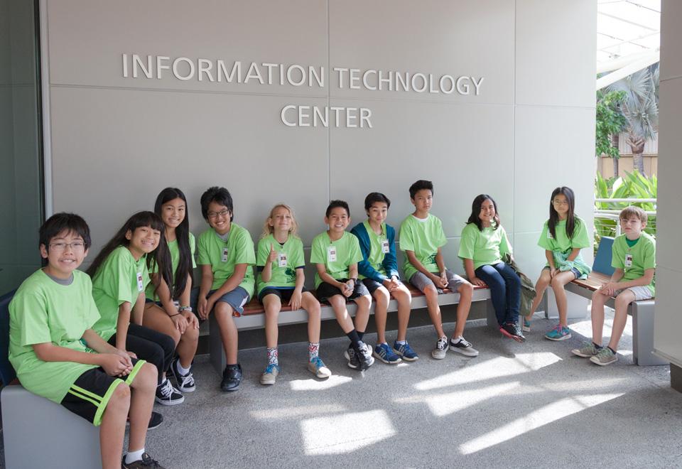 Information technology kids