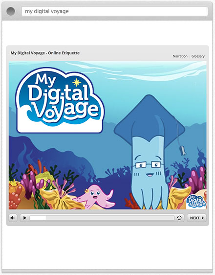 my digital voyage graphic