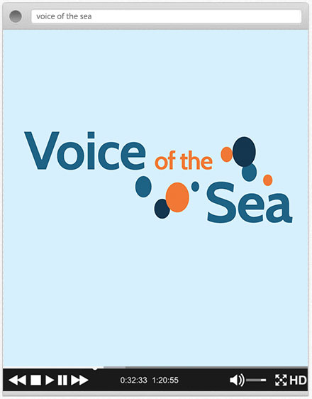 voice of the sea graphic element