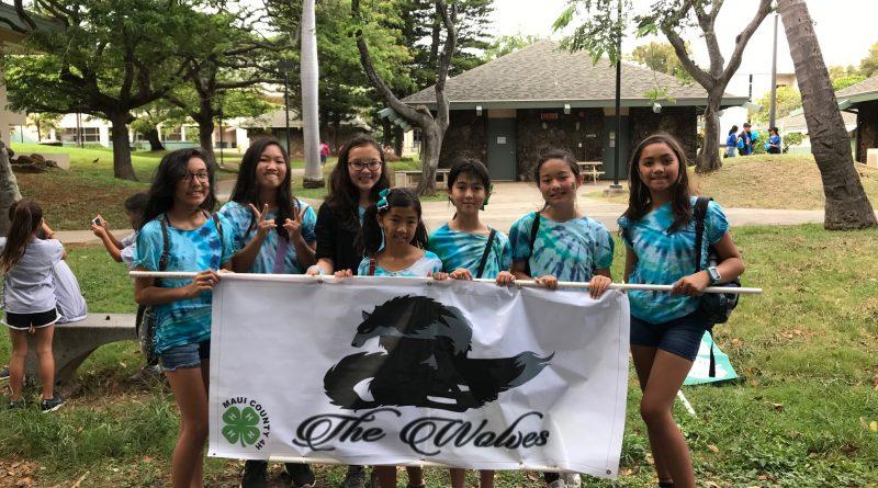 Wolves at Maui Fair Parade
