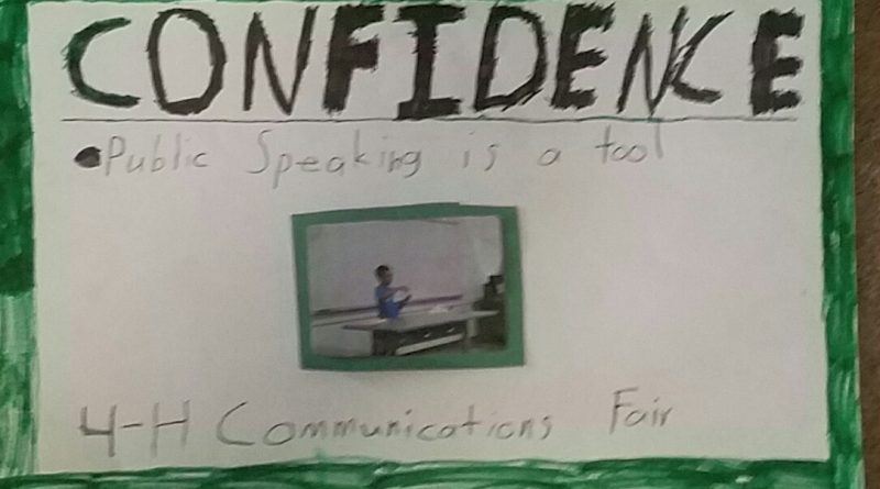 Confidence Poster