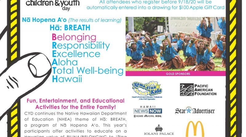 2020 Children and Youth Day Flyer