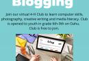 4-H Blogging Project