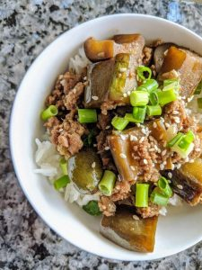 Teriyaki Eggplant Bowl Recipe