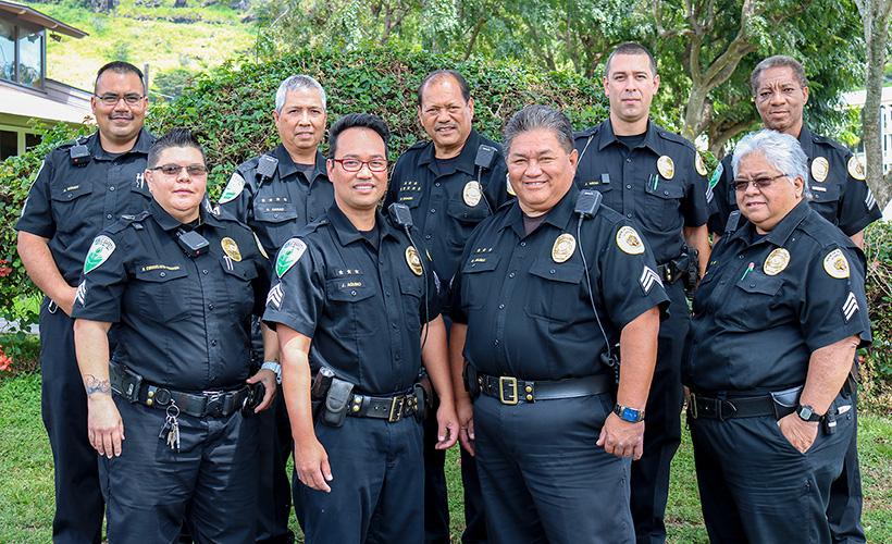 UHM DPS Command Staff