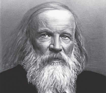 <p><strong>Fig. 2.6.</strong> (<strong>A</strong>). Dmitri Mendeleev</p>
