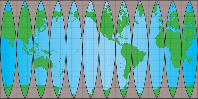 Map Distortion | manoa.hawaii.edu/ExploringOurFluidEarth