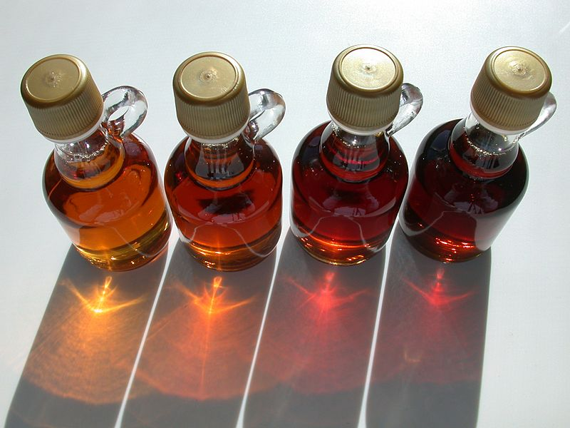 <p><strong>SF Fig. 2.8.</strong> Different grades of maple syrup</p>