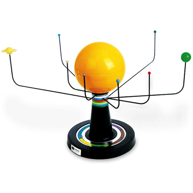 <p><strong>SF Fig. 2.13</strong>.<strong> </strong>A model of the solar system</p>