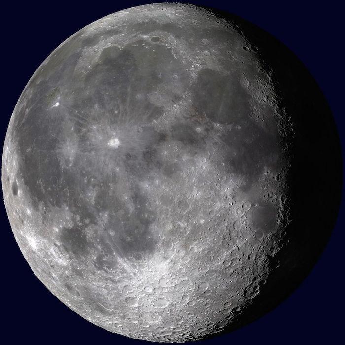 <p><strong>SF Fig. 6.10.</strong> (<strong>E</strong>) Waning gibbous moon</p>