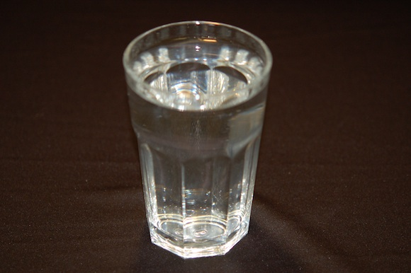 <p><strong>Fig. 1.5 </strong>(<strong>A</strong>) Water in a liquid state.</p>