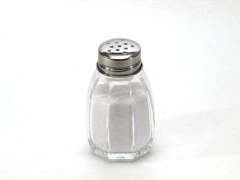 <p><strong>SF Fig. 2.2.</strong> (<strong>A</strong>) Table salt in a salt shaker.</p>