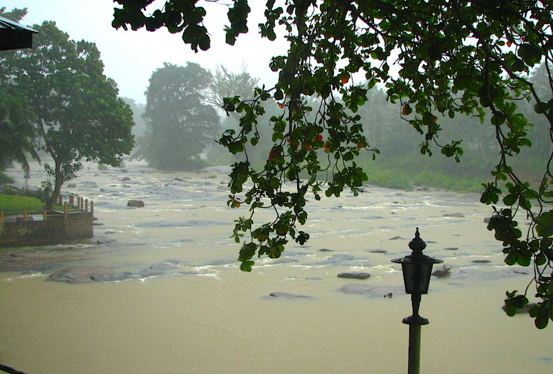 <p><strong>SF Fig. 3.2.</strong> (<strong>C</strong>) A rain-swollen river during heavy monsoon rain in Sri Lanka</p>