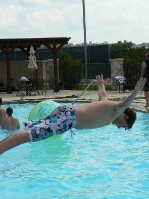 <p><strong>3.14C.</strong> A belly flop pre-landing</p>
