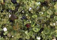 <p>Olivine sand at Papakōlea Beach on the Big Island of Hawai'i Island, US</p><br />