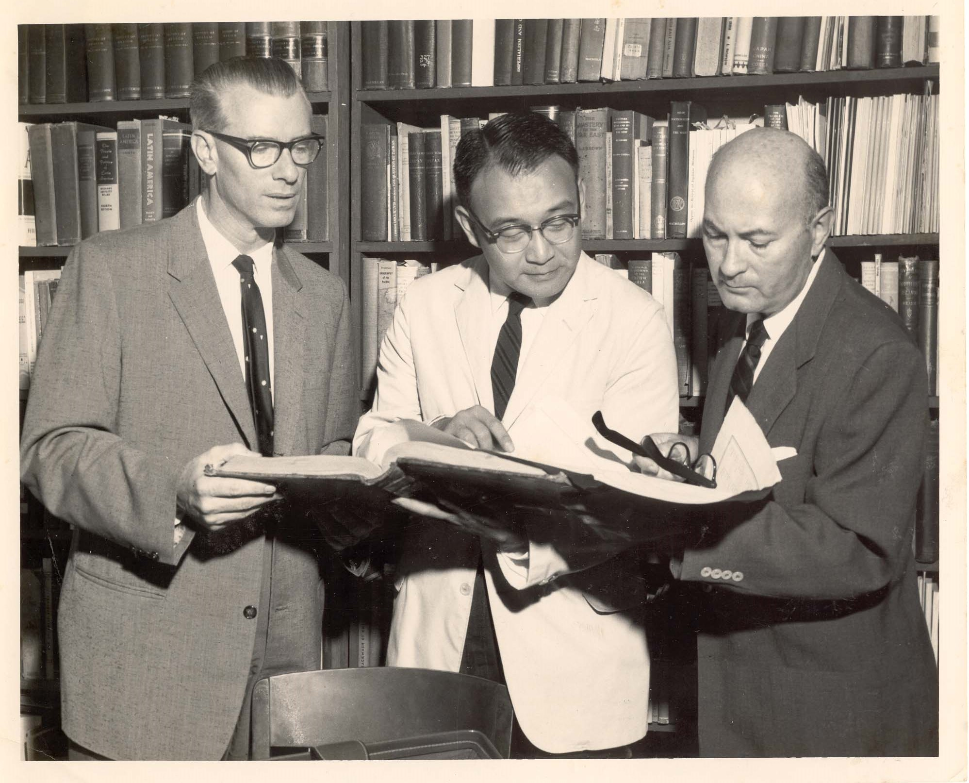 Photo of History Professors from UH Archives