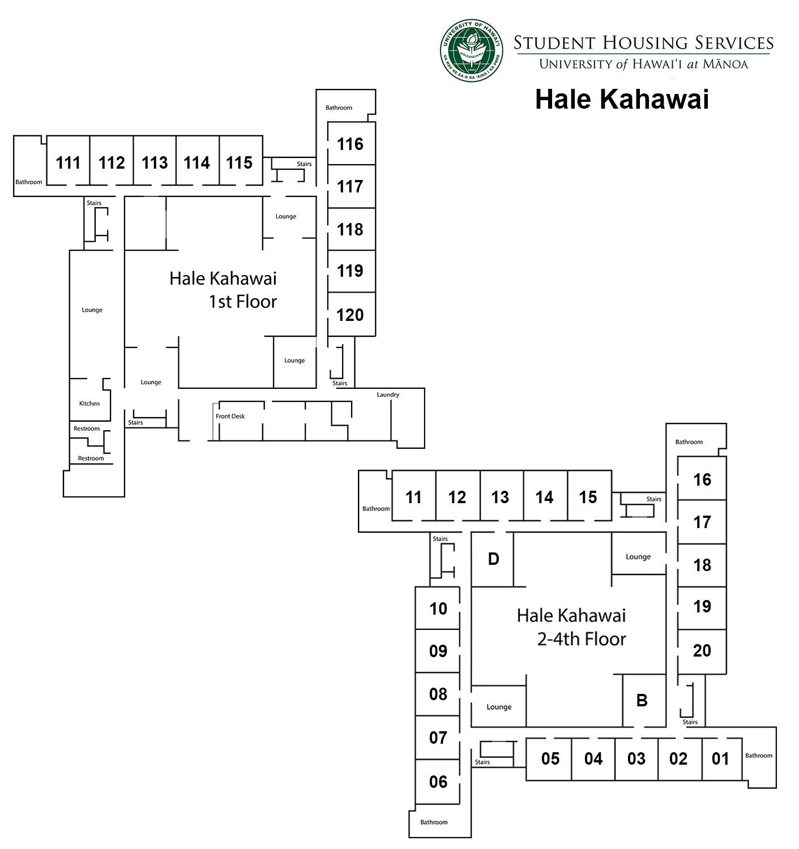 Hale Kahawai Floor Plan