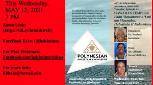 Brandt Webinar, Polynesian Ancestral Knowledge