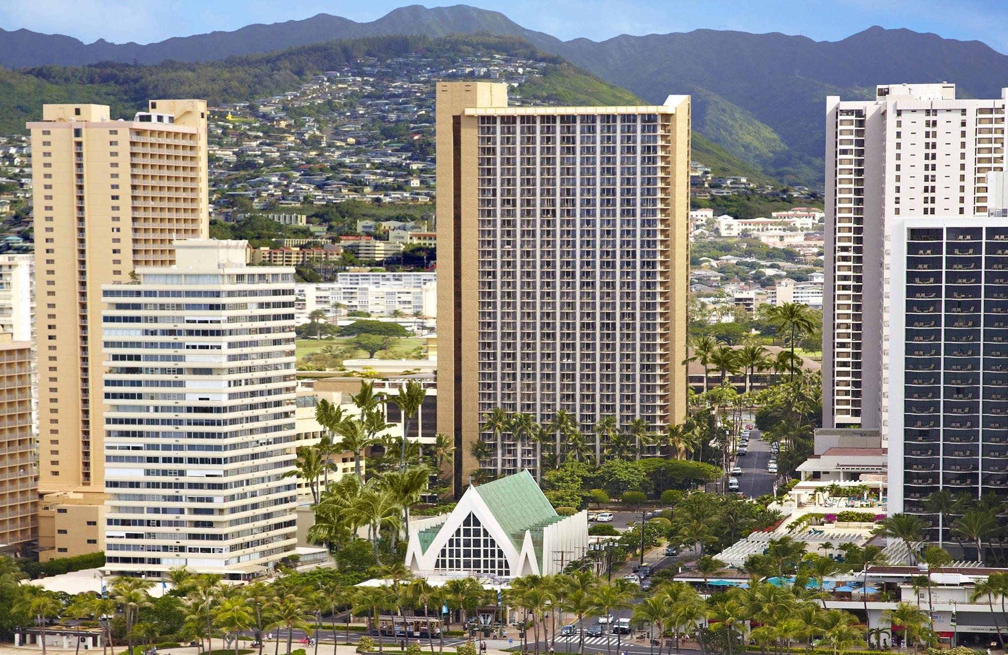Hilton Waikiki Beach Prince Kuhio Hotel