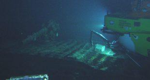 Pisces V submarine at I-400 Gun Deck