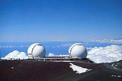 The W. M. Keck Observatory on Maunakea