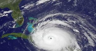 Hurricane Irma approaching Cuba and Florida