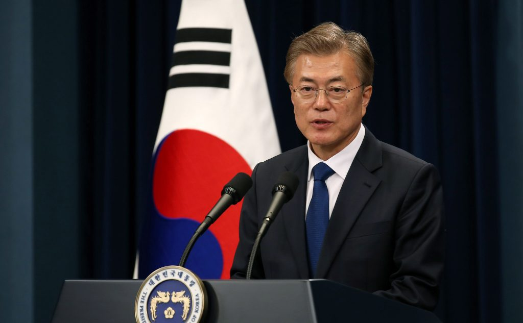 Republic of Korea President Moon Jae-in
