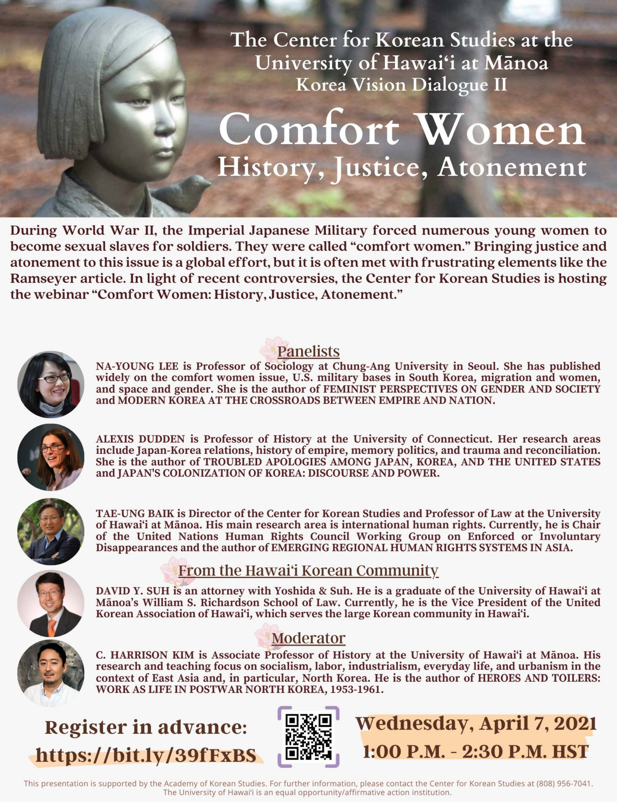 Flyer CKS Comfort Women 2021 Comprehensive