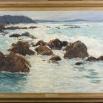 Rough Waters painting by Wm. Twigg-Smith