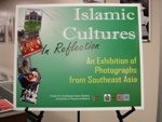 Islamic Cultures in Reflection Color Poster