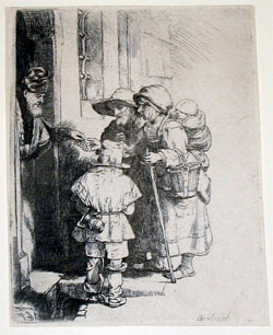 Rembrandt at Manoa: The Collection of Dr. Morton and Tobia Mower BW Image
