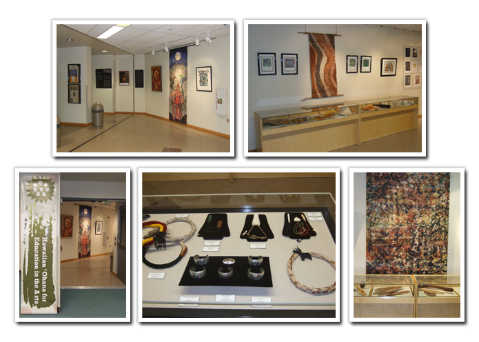 Contemporary PIKO AND HOEA Artists' Works Exhibit Images