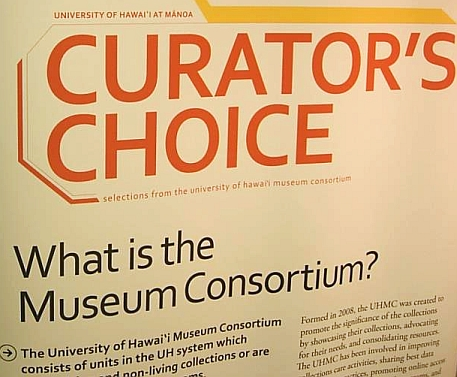 Curator's Choice, selections from the UH museum consortium image