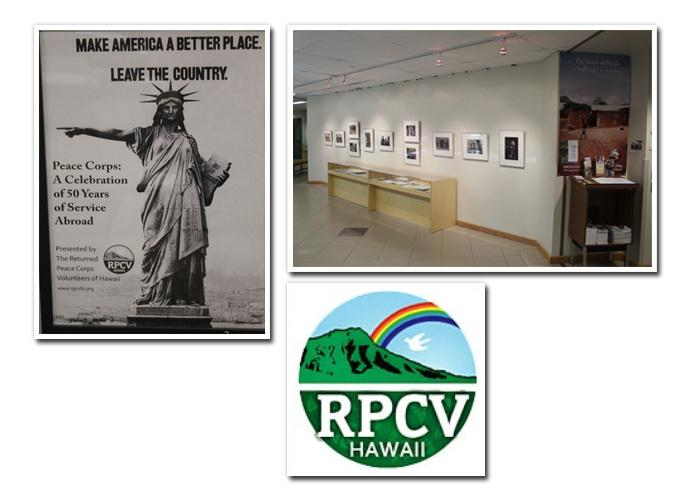 Peace Corps Exhibit Images