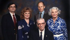 Robert Valiant, Patricia Polansky, John A. White, John J. Stephan, Ella Lury Wiswell