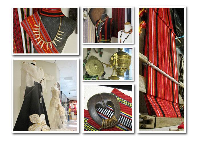 Textile Exhibit Items