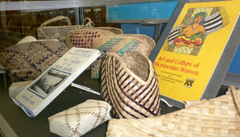 """Holding It Together: The Art of the BasketFeaturing Micronesian Handicraft donated to the Pacific Collection by Isebong """"Bonnie"""" Asang"""