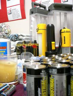 Disaster preparedness kit items