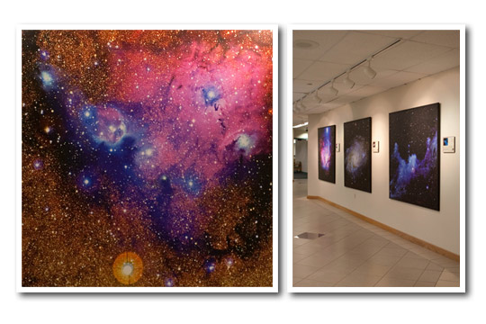 The Universe: Yours to Discover Exhibit Pictures Stars