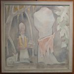 Portable fresco, painting #1178 by Jean Charlot