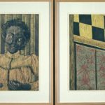 Diptych print by Laura Smith