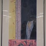 Figurative woodblock print by Laura Smith