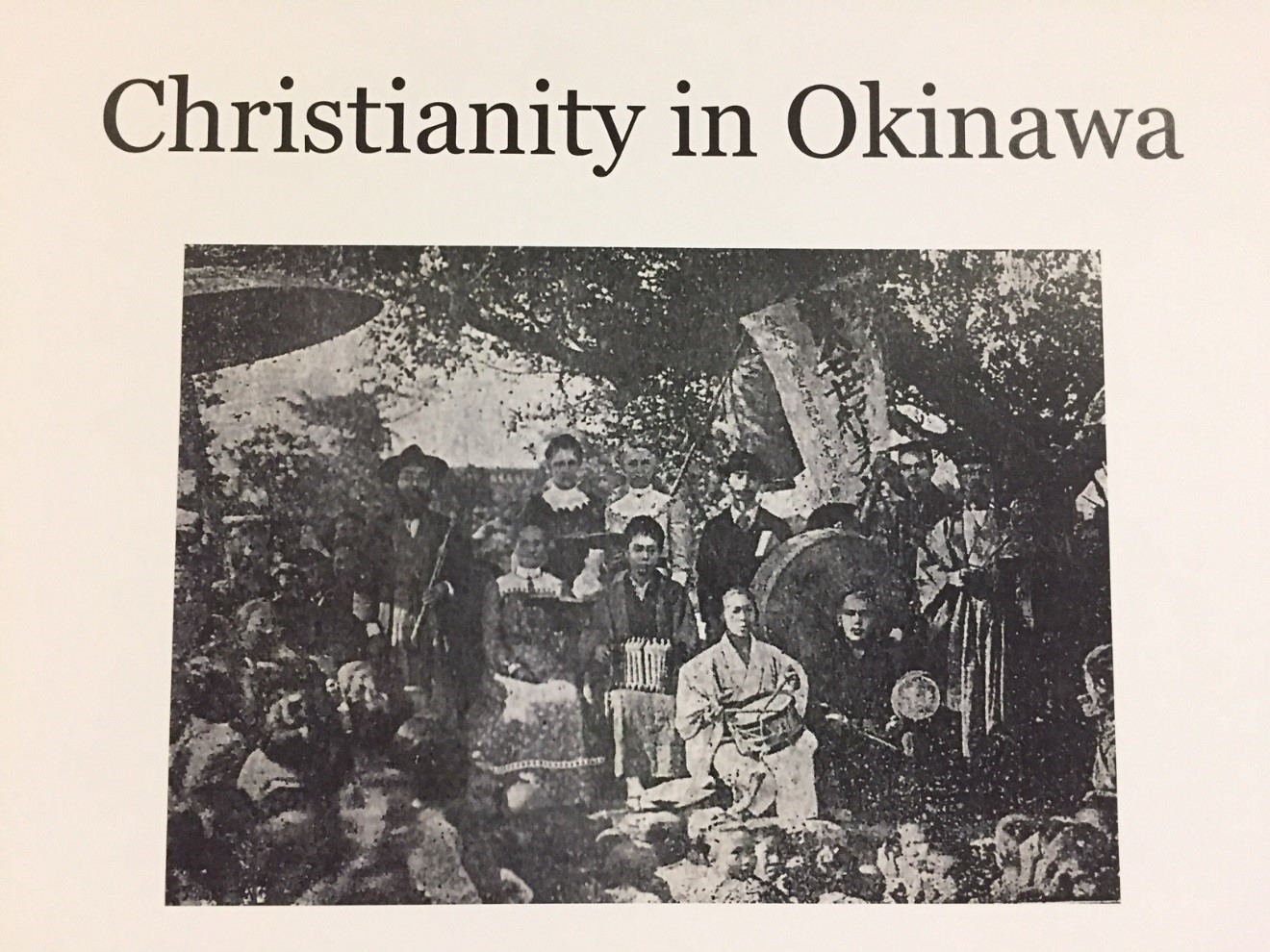 Christianity in Okinawa.